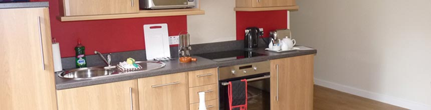 Self catering with excellent facilities.